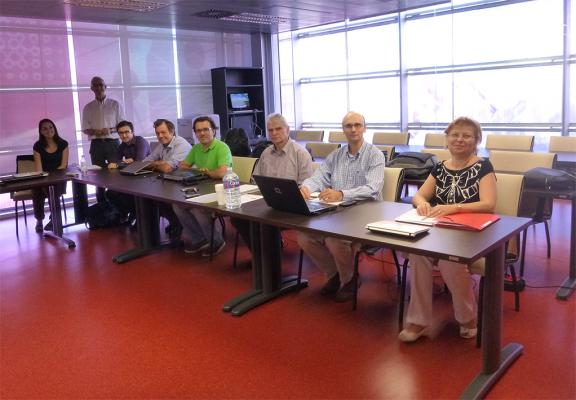 The ICE partners during project meeting in Valencia 2013